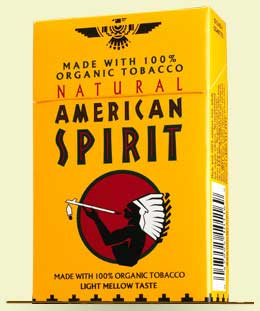 American Spirit Organic Light Blend