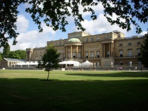 Buckingham Palace, Garden View