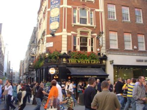 The Famous White Lion Pub