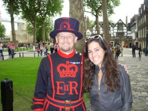 My Beefeater Friend