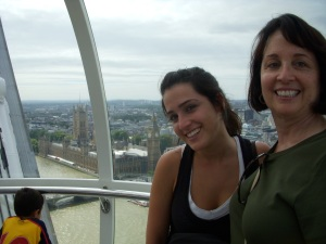 Forced Smiles on the London Eye
