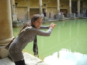 Roman Baths in the City of Bath