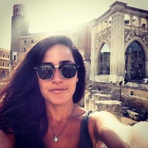 Me in Piazza Sant'Oronzo, Lecce